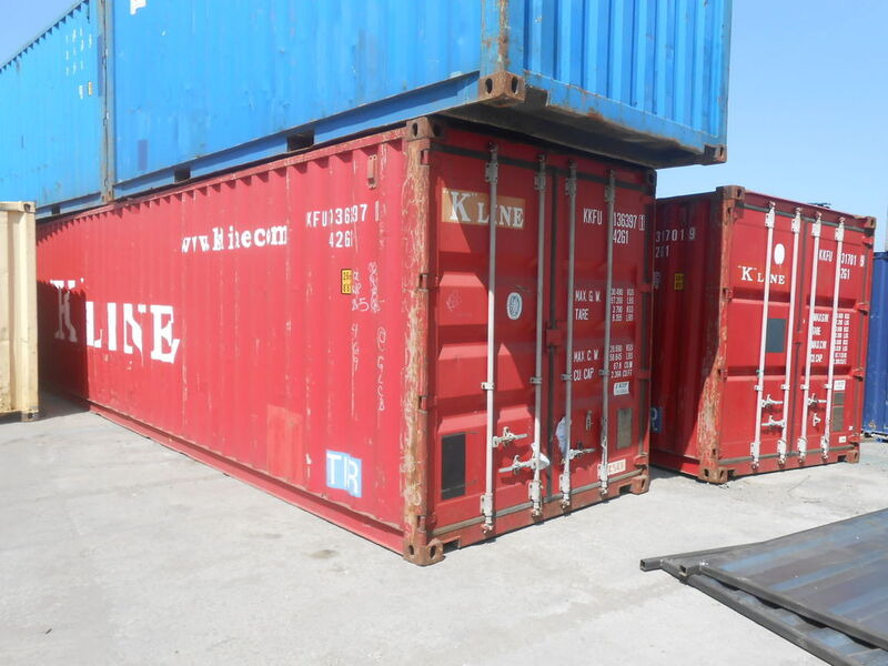 SHIPPING CONTAINERS 40ft original 67791 click to zoom image