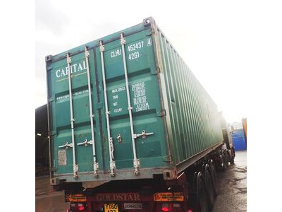 SHIPPING CONTAINERS 40ft original 40724