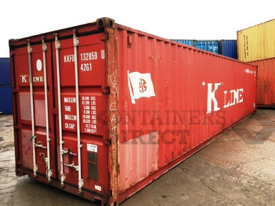 SHIPPING CONTAINERS 40ft ISO 40667