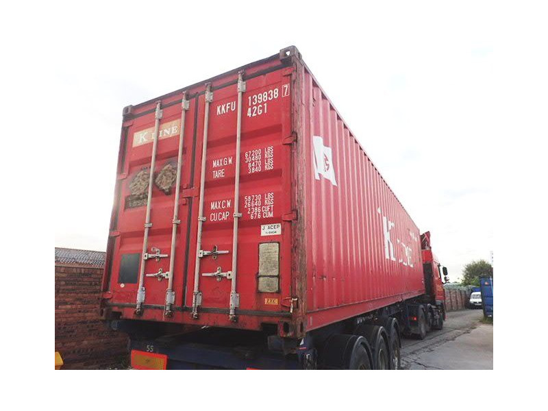 SHIPPING CONTAINERS 40ft original 34049 click to zoom image