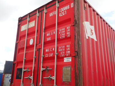 SHIPPING CONTAINERS 40ft original 38683