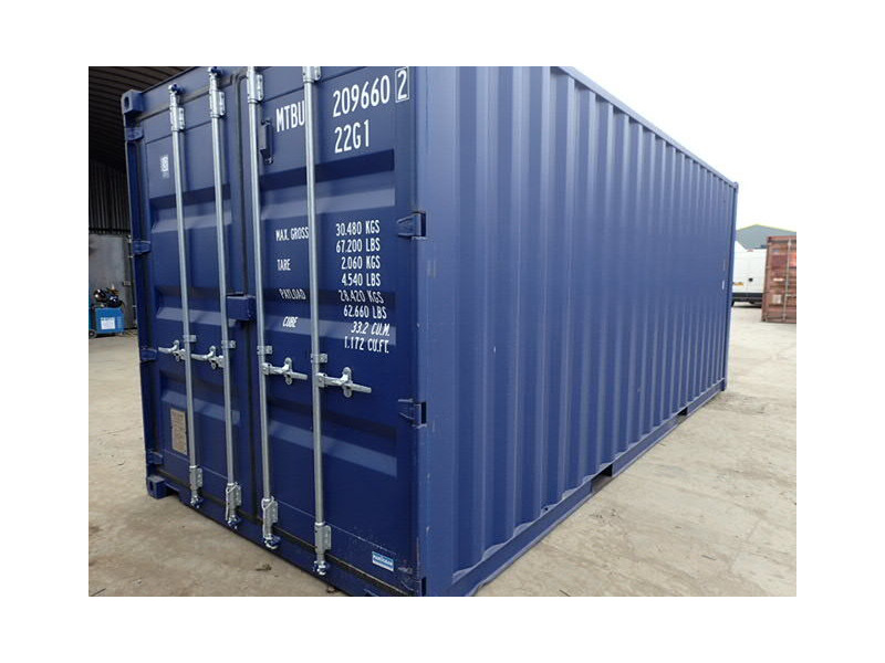 SHIPPING CONTAINERS 20ft ISO 24938 click to zoom image