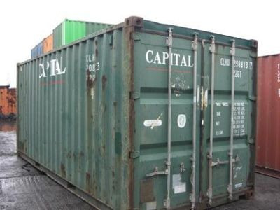 SHIPPING CONTAINERS 20ft original 17980