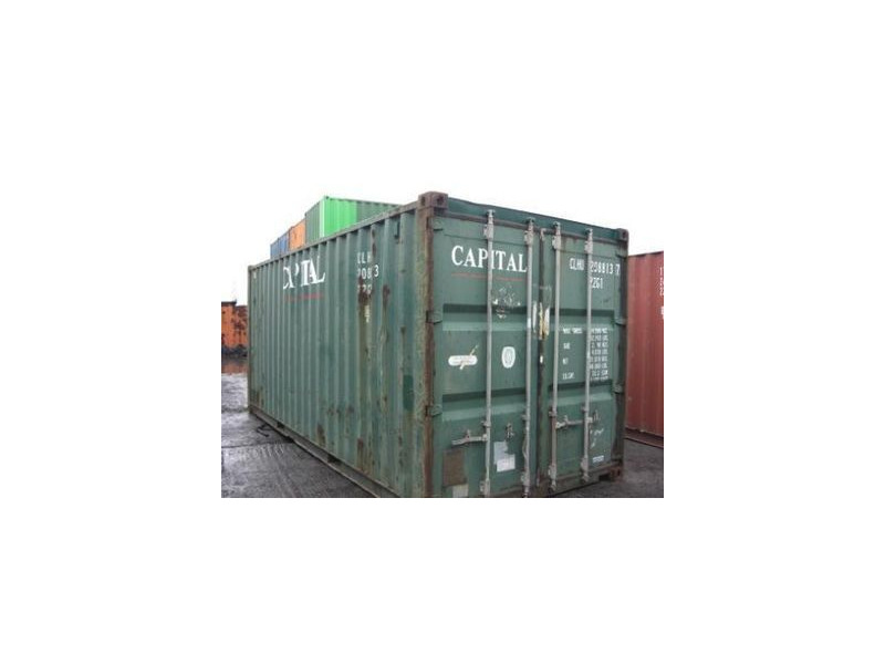 SHIPPING CONTAINERS 20ft original 66675 click to zoom image