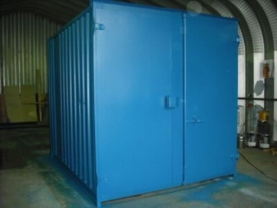 SHIPPING CONTAINERS 10ft S1 doors 14345