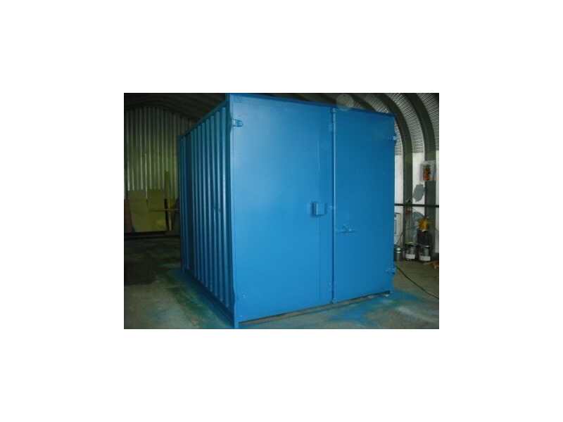 SHIPPING CONTAINERS 10ft S1 doors 46157 click to zoom image