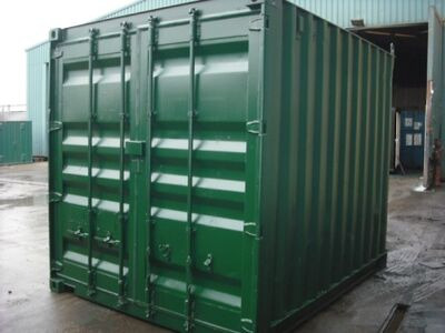 SHIPPING CONTAINERS 10ft ISO doors 30188