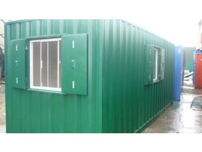 Shipping Container Conversions 20ft Office Conversion