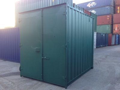 SHIPPING CONTAINERS 10ft high cube S1 27760