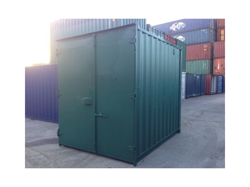 SHIPPING CONTAINERS 10ft high cube S1 21810 click to zoom image