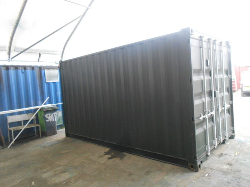 SHIPPING CONTAINERS 15ft - S2 doors click to zoom image