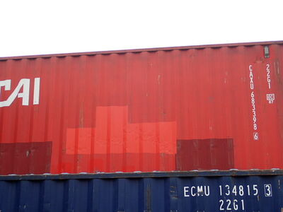 SHIPPING CONTAINERS 20ft original doors 64025 click to zoom image