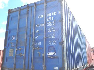 SHIPPING CONTAINERS 20ft original doors 46152