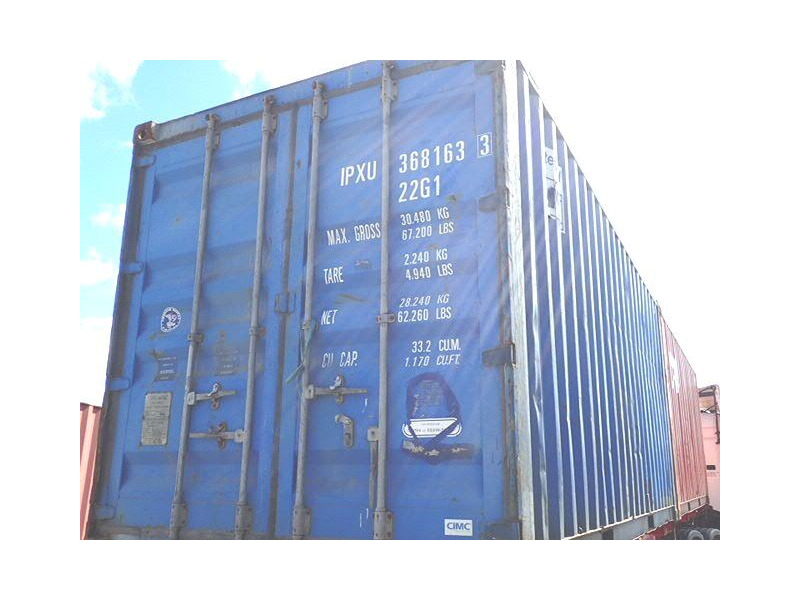SHIPPING CONTAINERS 20ft original doors 46152 click to zoom image