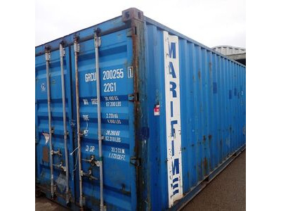 SHIPPING CONTAINERS 20ft original doors 63698