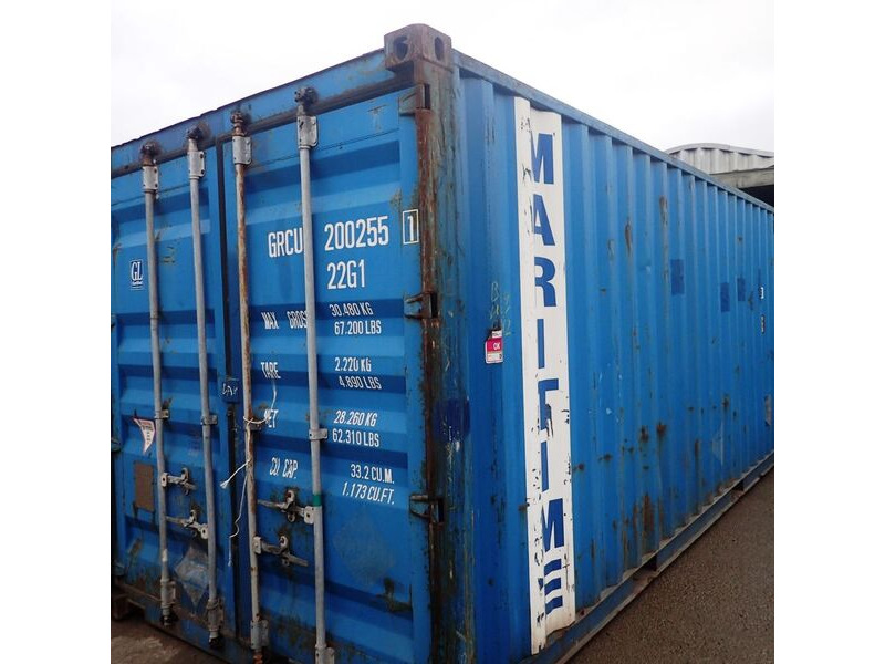 SHIPPING CONTAINERS 20ft original doors 63698 click to zoom image