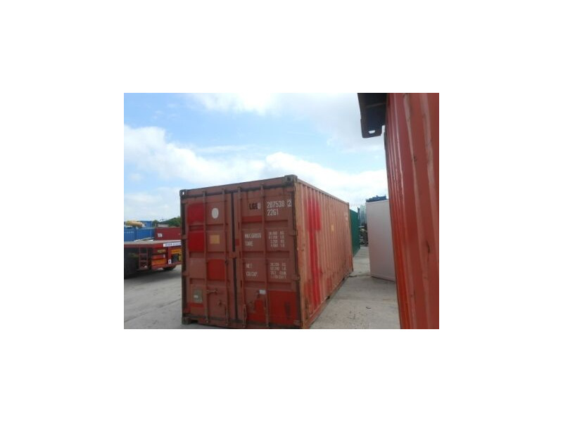 SHIPPING CONTAINERS 20ft original doors 36424 click to zoom image