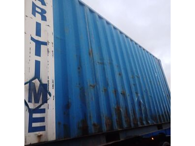SHIPPING CONTAINERS 20ft original doors 36427 click to zoom image