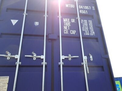 SHIPPING CONTAINERS 40ft high cube MTBU0410571