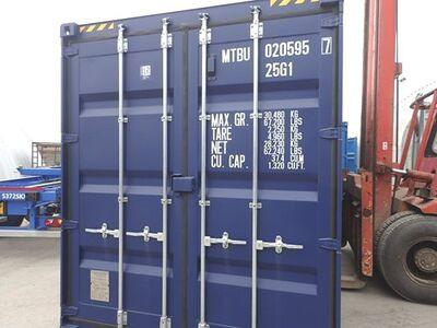 SHIPPING CONTAINERS 20ft high cube MTBU0205957