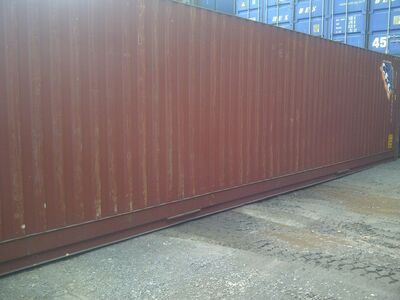 SHIPPING CONTAINERS 40ft ISO 27901
