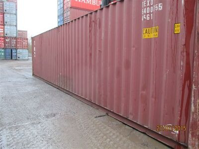 SHIPPING CONTAINERS 40ft high cube 62167 click to zoom image