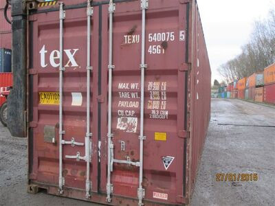 SHIPPING CONTAINERS 40ft high cube 62167