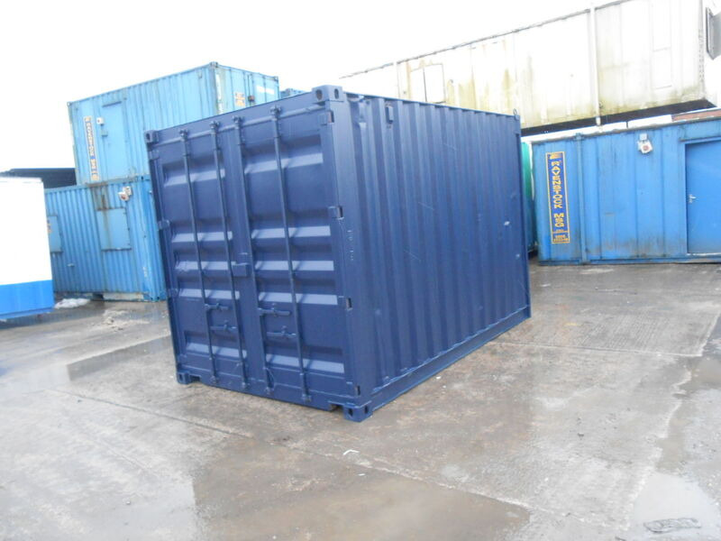 SHIPPING CONTAINERS 15ft S2 doors 33440 click to zoom image