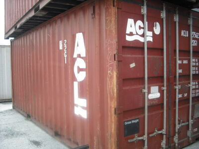 SHIPPING CONTAINERS 20ft ISO 28737