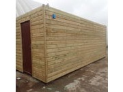 CLADDED SHIPPING CONTAINERS SEAMLESS SHIPLAP