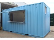 SHUTTERS AND HATCHES IN CONTAINERS