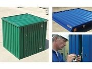 WHAT ARE FLAT PACK CONTAINERS? logo