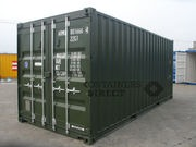 SHIPPING CONTAINERS FROM CONTAINERS DIRECT logo