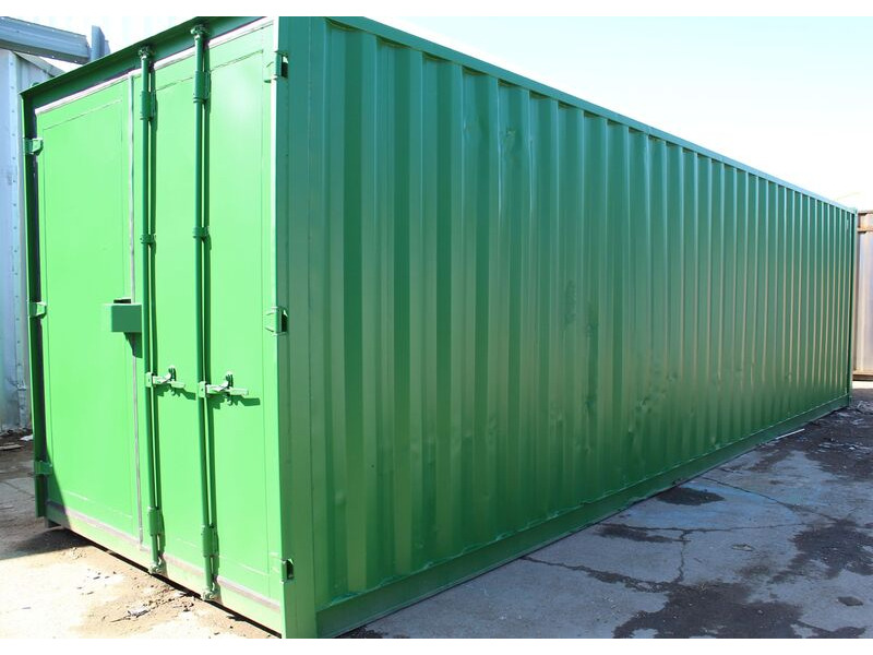 30ft New Shipping Containers 30ft Once-Used - S3 Doors click to zoom image