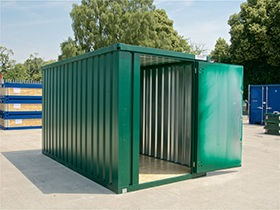Flat Pack Shipping Containers