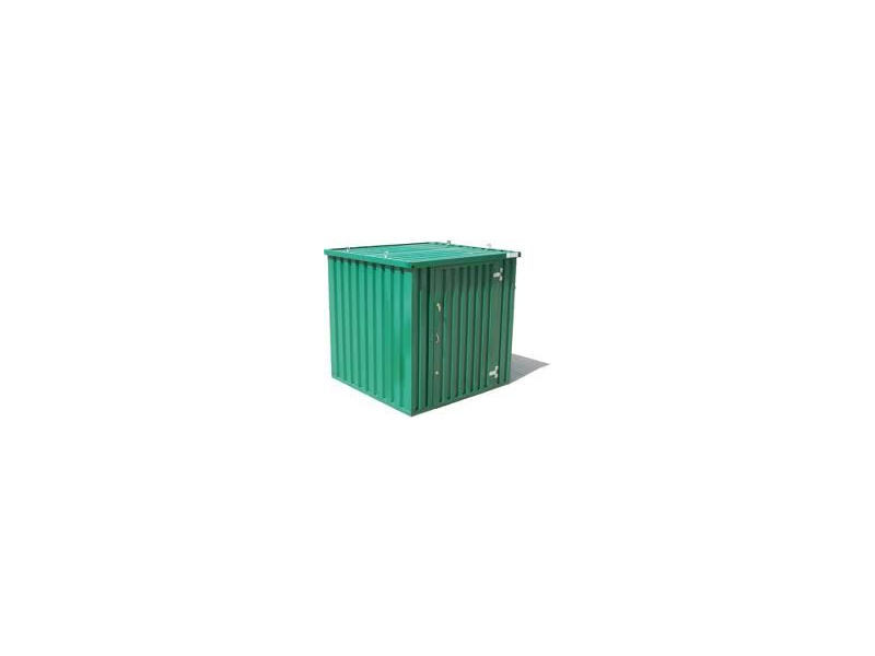 Flat Pack Containers 3m self assembly green 37686 click to zoom image