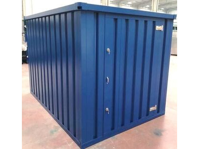 Flat Pack Containers 3m self assembly blue