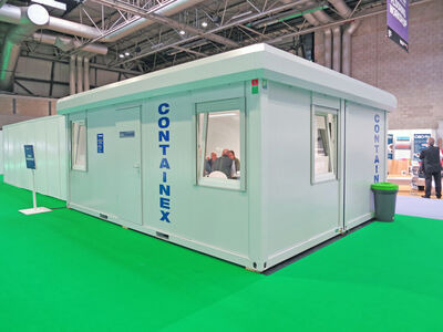 Flat Pack Containers 30ft CXO cabin office click to zoom image