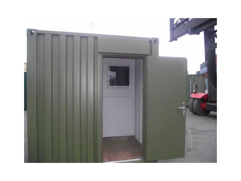 CONTAINER CONVERSION CASE STUDIES 20ft partitioned click to zoom image