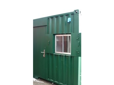 Shipping Container Conversions 15ft canteen/toilet