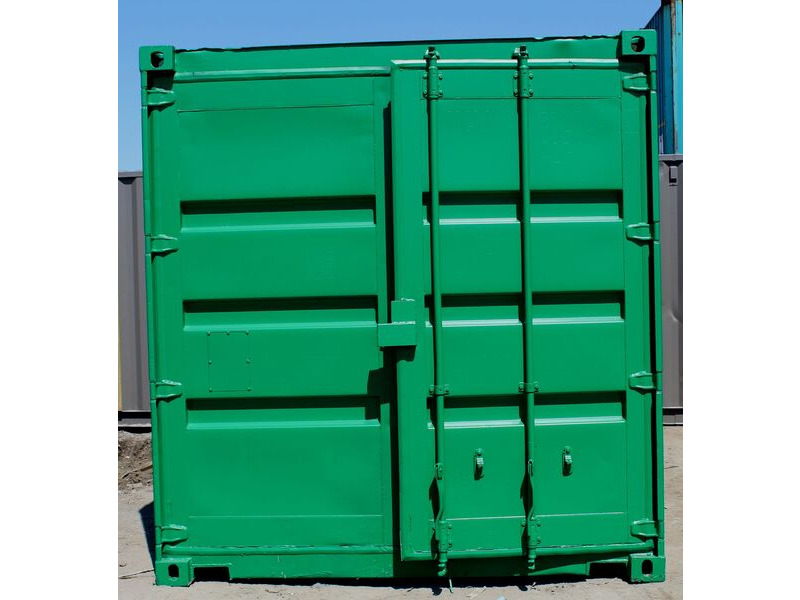 5ft and 6ft Shipping Containers 5ft Used - S3 Doors click to zoom image