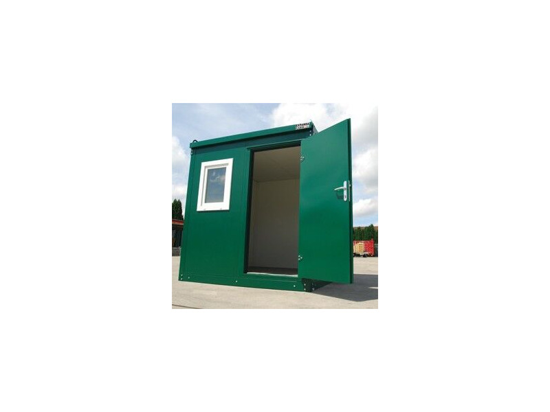 STEEL GARDEN OFFICE 14ft/ 4.3m x 2.3m click to zoom image