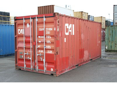 20ft Used Shipping Containers 20ft S2 doors