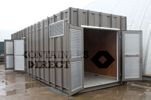 Shipping Container Conversions 24ft Plant Room Cs39447