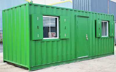 How to Create a Shipping Container Office