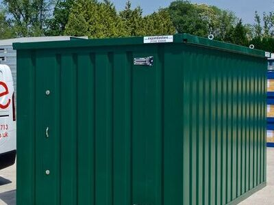 What is a Flat Pack Shipping Container?