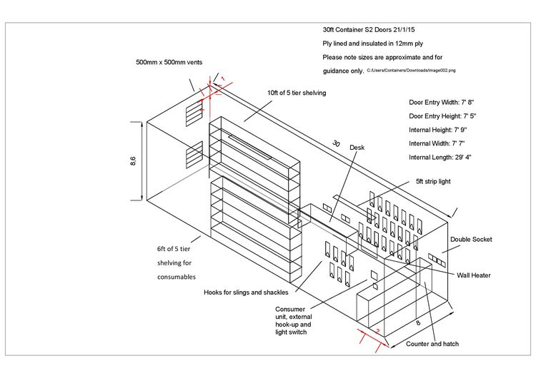 container conversion case studies 30ft equipment store cs23987